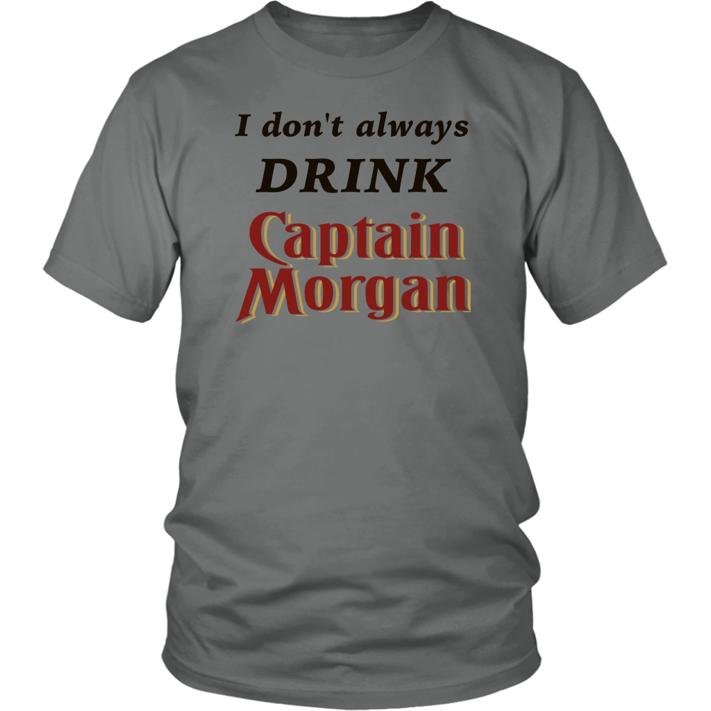 Captain Morgan Tshirt Capt Morgan Gift T-Shirt Perfect For the Rum Lover The Ultimate Funny Pub Shirt - silverageproducts.com