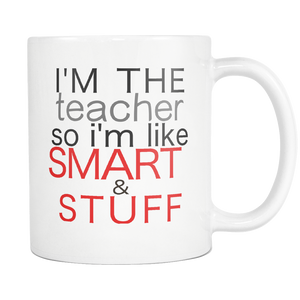 Teacher Career Appreciation Gift Coffee Mug - silverageproducts.com