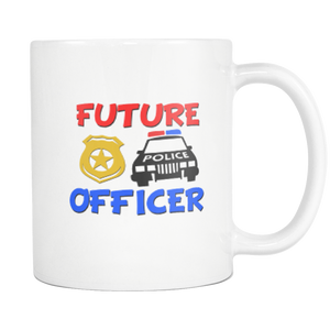 Future Police Officer Career Coffee Mug - silverageproducts.com