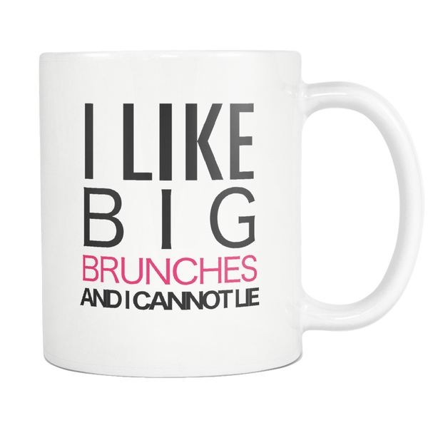 I lIke Big Brunches Coffee Mug - silverageproducts.com