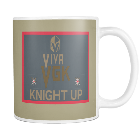 Vegas Golden Knights Hockey NHL Coffee Mug - silverageproducts.com