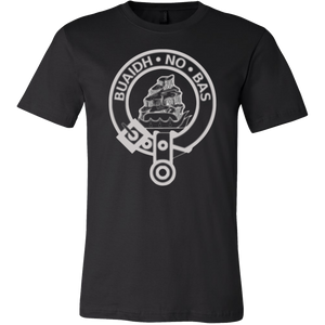 macneil crest grey tee - silverageproducts.com