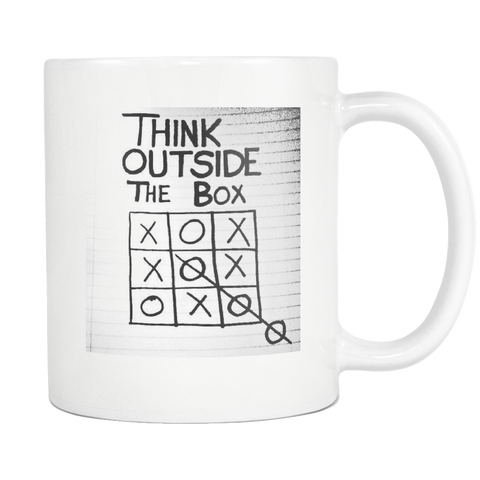Tic Tac Toe Office Co-Worker Career Gift Coffee Mug - silverageproducts.com