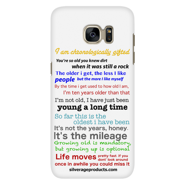 Ageing Wisdom Phone Case - iPhone and Samsung - silverageproducts.com