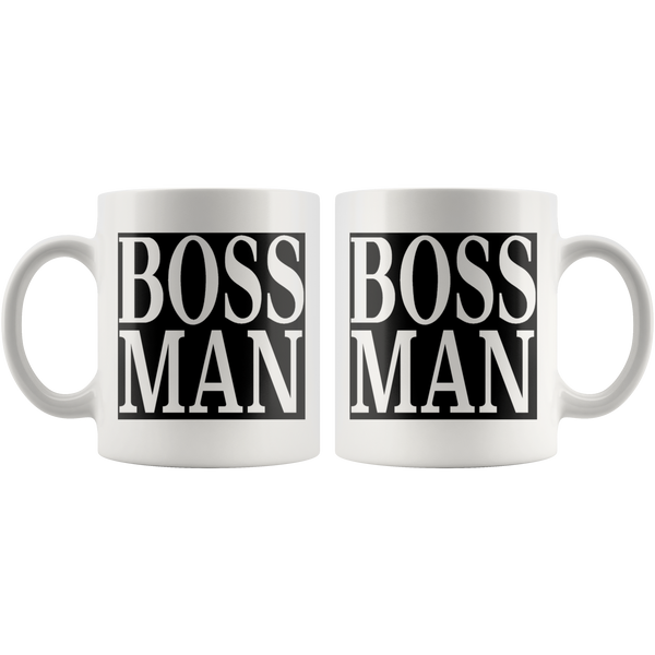 Boss Man Owner Big Cheese El Jefe Office Gift Career Coffee Mug - silverageproducts.com