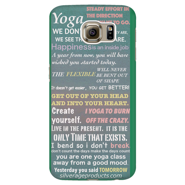 Yoga Inspiration Phone Case - Ocean - iPhone & Samsung - silverageproducts.com