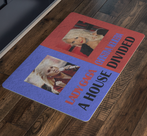 Christina Aguilera Beautiful Housewarming Rug Lady Gaga Music Doormat - silverageproducts.com