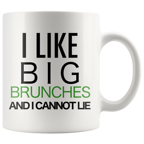 I like Brunches Green Coffee Mug - silverageproducts.com