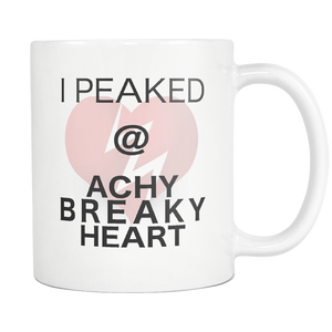 Billy Ray Cyrus Achy Breaky Heart Coffee Music Mug - silverageproducts.com