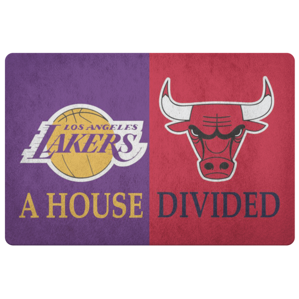 La Lakers Bulls Doormats - silverageproducts.com