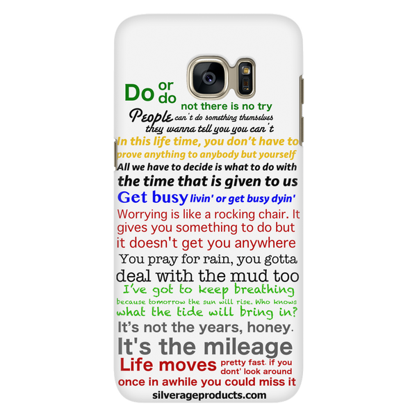 Favorite Movie Quotes (white) - iPhone and Samsung - silverageproducts.com