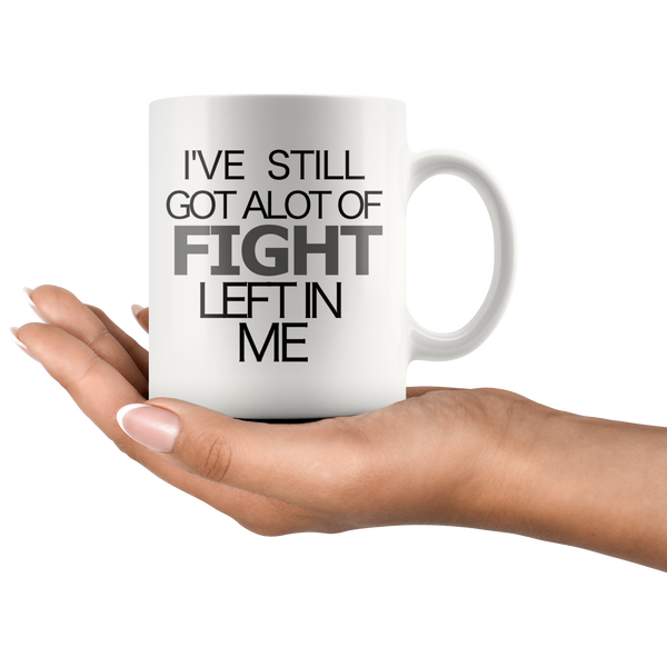 Rachel Platten Fight Music Lyric Coffee Mug - silverageproducts.com
