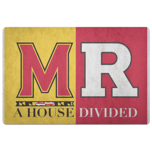 Maryland Rutgers Man Cave Decor Doormat Entryway Rug - silverageproducts.com