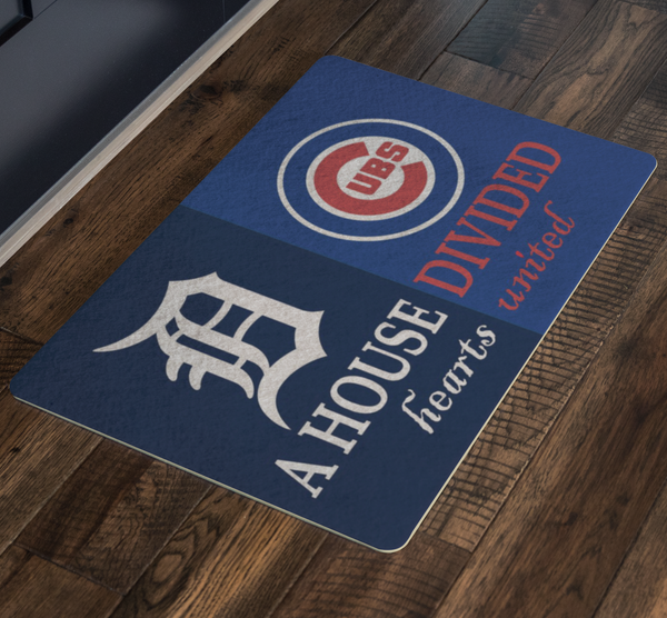 Tigers Cubs Doormat - silverageproducts.com