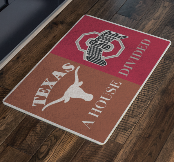 Texas Longhorns Ohio Doormat - silverageproducts.com