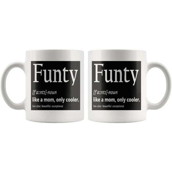 Funty Aging Humor Coffee Mug - silverageproducts.com