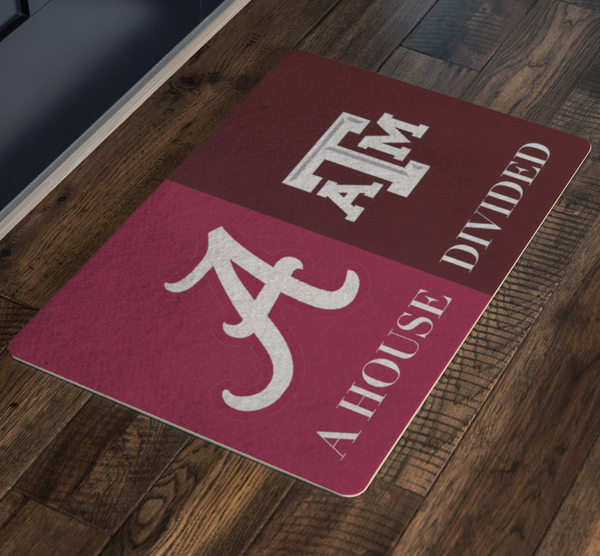 House Divided Man Cave Decor Texas A & M University - silverageproducts.com