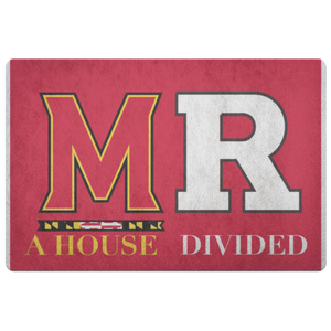 Maryland Rutgers Doormat - silverageproducts.com