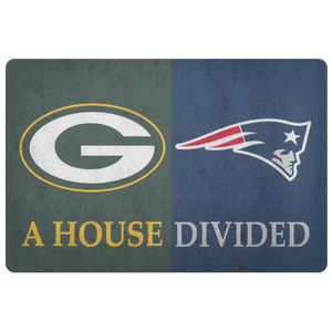 Green Bay Patriots Doormat - silverageproducts.com