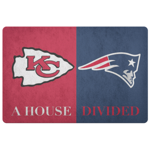 Pats Chiefs Doormat - silverageproducts.com