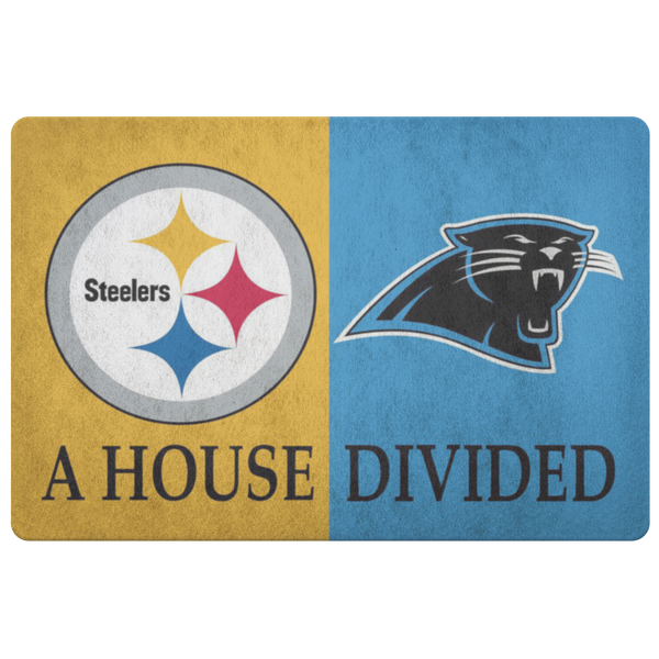 Pittsburgh Steelers Jaguars Doormat - silverageproducts.com