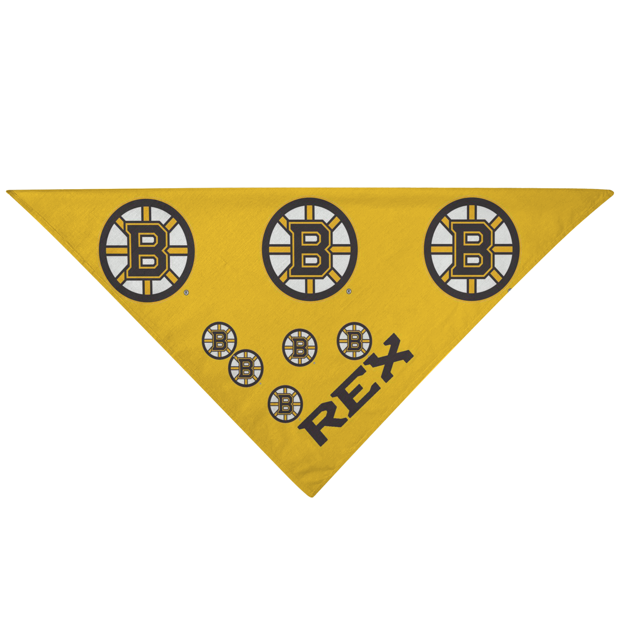 Bruins Pet Dog Custom Bandana Pet Lover Gift - silverageproducts.com
