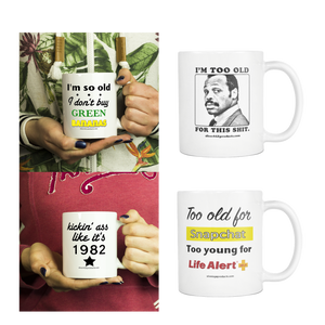 4 pack of coffee mugs for the price of 3! - silverageproducts.com