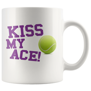 Tennis Ace Lover Sports Coffee Mug - silverageproducts.com