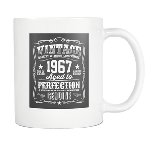 Life in your 50's vintage coffee mug Aging Humor - silverageproducts.com