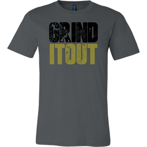 Grind It Out Ballers Motivational T-shirt Daily Grind Working Out Fitness Apparel Workout Tee Grind Shirt Ballers - silverageproducts.com