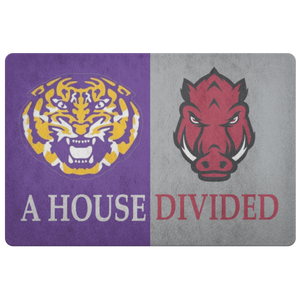 LSU Razorbacks Doormat - silverageproducts.com