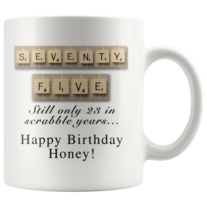 scrabble honey mug - silverageproducts.com