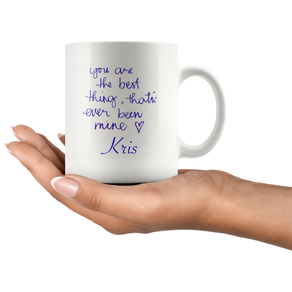 Kris Taylor Swift Mug - silverageproducts.com