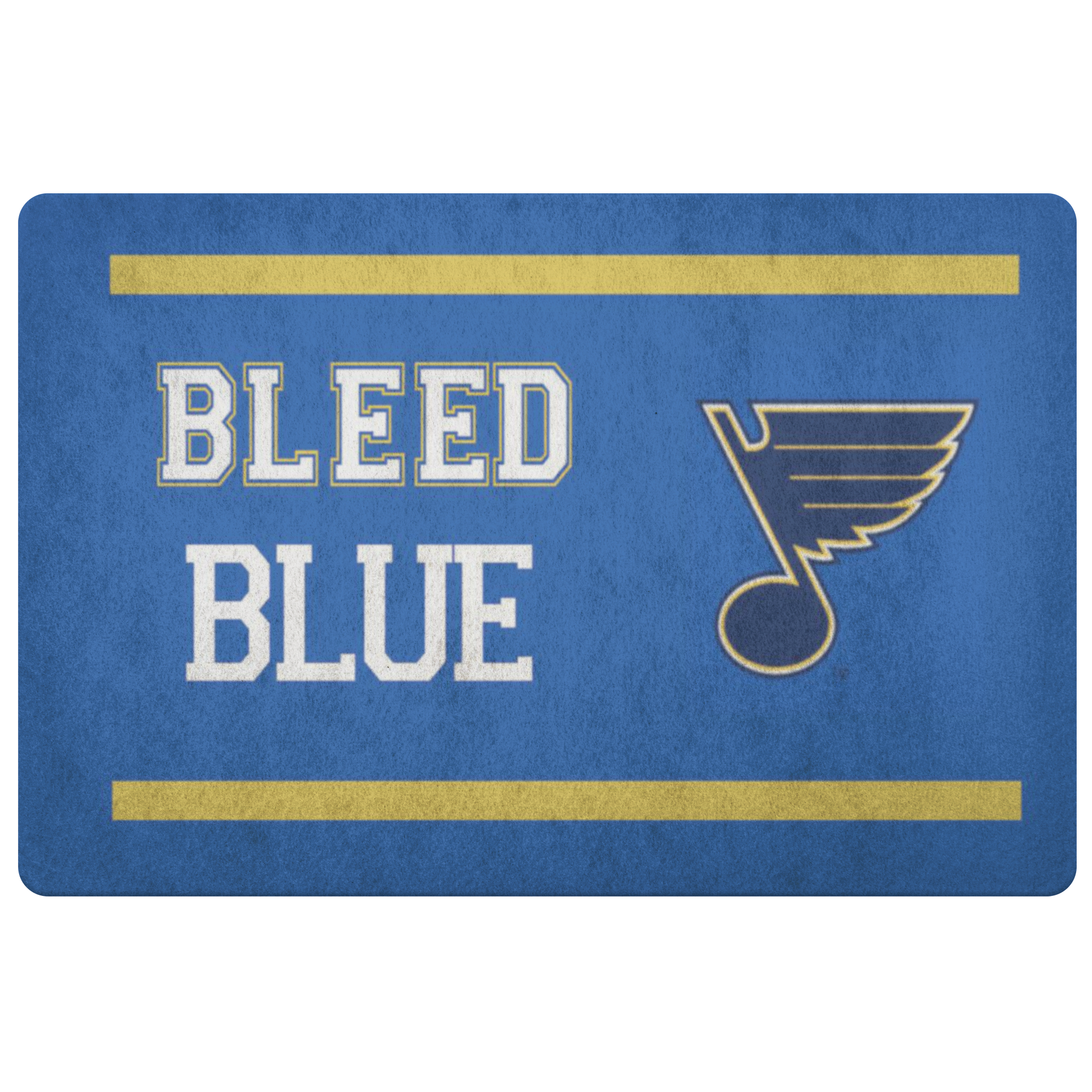 St Louis Blues Front Porch NHL Hockey Welcome Doormat - silverageproducts.com