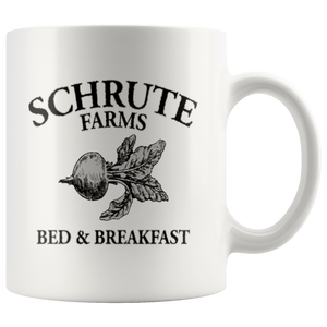 Dwight Schrute Bed And Breakfast Movie Coffee Mug - silverageproducts.com