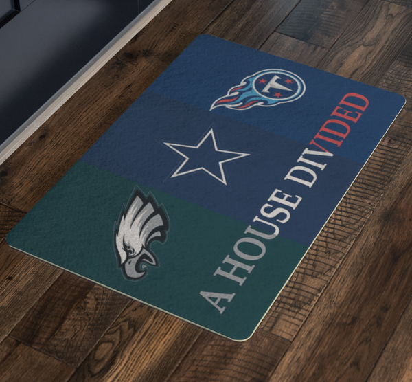 Eagles Cowboys Titans Doormat - silverageproducts.com