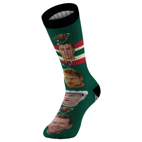 Minnesota Wild Hockey Socks - silverageproducts.com