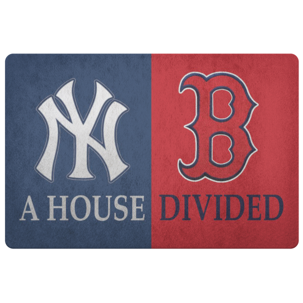 Red Sox Yankees Doormat - silverageproducts.com
