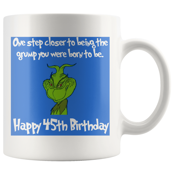 Grinch 45th Birthday - silverageproducts.com