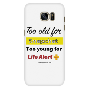 Life in your 50's Phone Case - Snapchat - iPhone & Samsung - silverageproducts.com