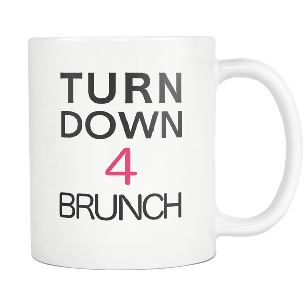Brunch Coffee Mug down 4 brunch - silverageproducts.com