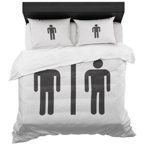 Same Sex Gay Duvet Cover And Pillow Sham - silverageproducts.com
