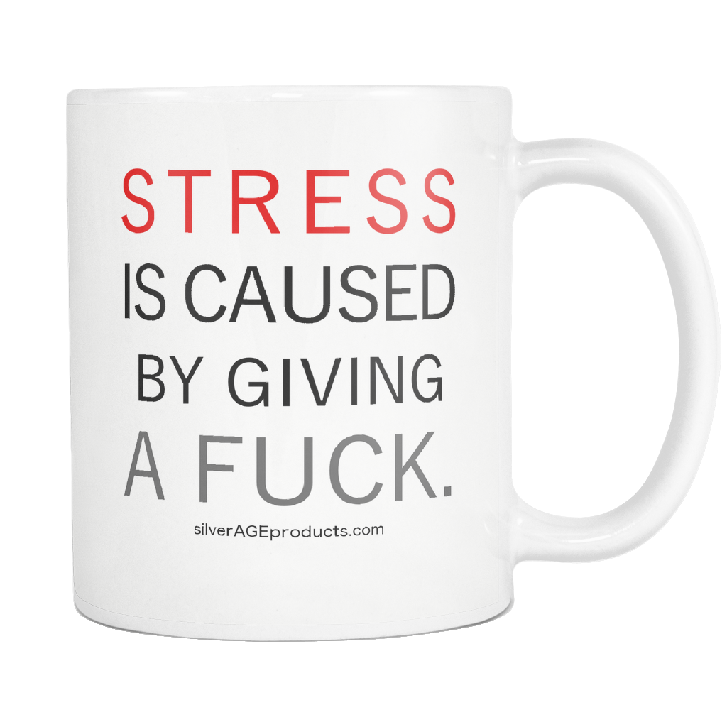 The Stress Office Career Gift Coffee Mug - silverageproducts.com
