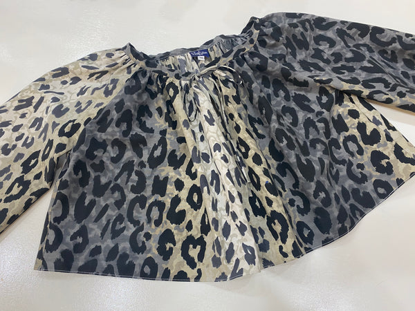 Olivia top in Leopard Lover