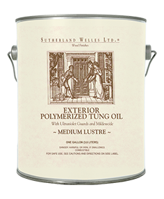 Exterior Polymerized Tung Oil Qt Size