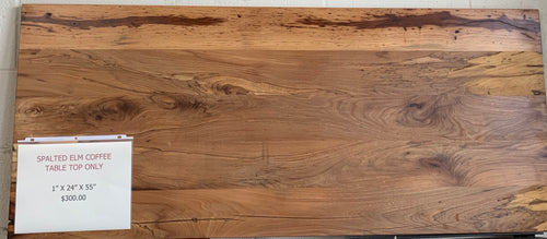 Spalted Elm Table Top