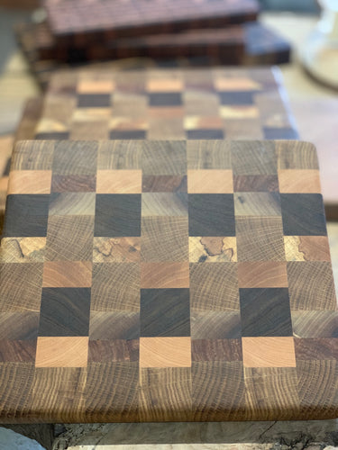Texas Mixed End Grain Cutting Board