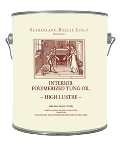 By Southern Welles Murdochs The Original Formula Polymerized Tung Oil is the first product that Sutherland Welles Ltd.® ever formulated. It's a perfect choice for creating the finest hand rubbed finish. This product can be used for many different projects. We have provided finishing techniques for all your project needs.