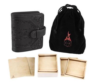 Spell Card Book: Black Book of Incantations (Dice Edition)
