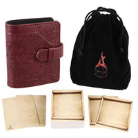 Spell Card Book: Red Book of Incantations (Dice Edition)